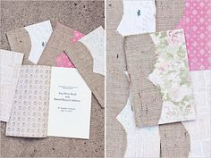 Pink And White Garden Wedding filled with classic, whimsical wedding ideas including some super cute custom burlap wine bags. Wedding Pins, Wedding Paper, Diy Wedding, Wedding Photos, Dream Wedding, Wedding Ideas, Rustic Wedding, Wedding Program Inspiration, White Gardens