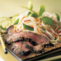 Japanese-Style Wasabi Steak Salad - The Pampered Chef®