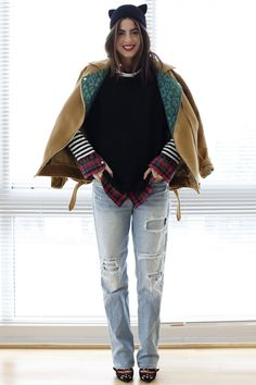 Love the Layers ****The shoes!
