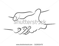 Simple Line Art Two Hands Holding Stock Vector (Royalty Free) 312652475 Holding Onto You, Holding Hands, Hold On, Hand Holding Tattoo, Logo Concept, Simple Lines, Logo Design Inspiration, Two Hands, Hand Tattoos