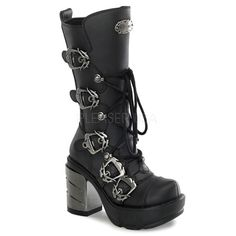 SINISTER-203 Chromed Heel Boots NEED!!!!