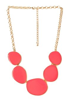 Subtle Glam Lacquered Necklace | FOREVER21 - 1000069864