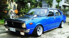 Image Detail for - ... back home! – Old School Toyota Corolla KE30 on 13×8 ATS Classics