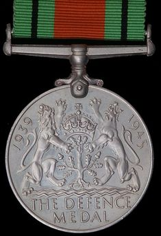 The  British WW2 Defence Medal.