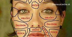 Vedeli ste, že podľa čínskej medicíny sú časti tváre spojené s jednotlivými…