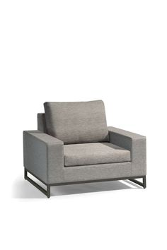 Manutti // Comfortable patio lounge chair from the Zendo Collection. The classic design of the Zendo collection concept matches any exterior space – Zendo Collection #outdoorfurniture #outdoorluxury Patio Lounge Chairs, Outdoor Lounge, Comfy Sofa, Sofa Upholstery, Modular Sofa, Luxury Living, Love Seat, Relax, Couch