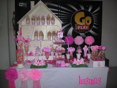 """Photo 1 of 35: Barbie / Birthday """"Mesa de golosinas de cumpleaños"""""""