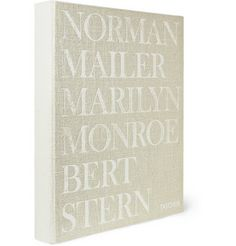 Taschen Norman Mailer and Bert Stern: Marilyn Monroe Signed Hardcover Book |  Combining Mr Norman Mailer's comprehensive biography of Ms Marilyn Monroe with Mr Bert Stern's infamous 'last sitting' shoot for Vogue just six weeks before her death.  This hardcover keepsake is printed in a large format. This numbered, limited edition volume has been signed by Mr Stern and is handsomely presented in a solid case. | MR PORTER