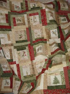 Frosted Memories. I could use this design and fussy cut some other Christmas fabrics I have