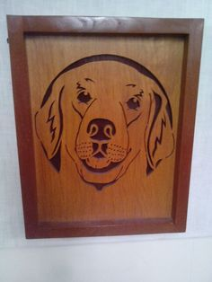 Golden Retriever by Rickswoodworks1 on Etsy