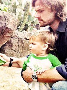 Jared Padalecki and Thomas *-*