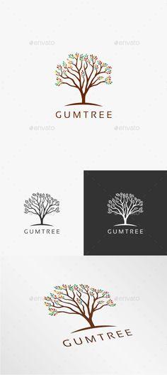 Gum Tree  - Logo Design Template Vector #logotype Download it here: http://graphicriver.net/item/gum-tree-logo-template/10721826?s_rank=1152?ref=nexion