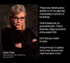 L❤VE Y❤U, CARRIE FISHER ~ ❤❤❤ #CarrieFisher