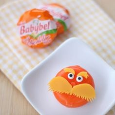 15 The Lorax inspired food ideas! Including this fun and healthy cheese Lorax.