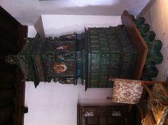 Antiker Kachelofen aus dem Mittelalter #Riegersburg
