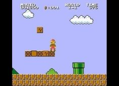 The bushes in Super Mario Bros. were just recolored clouds