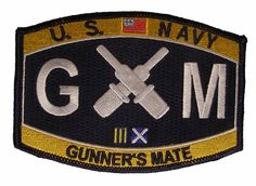 An awesome patch for any US Navy Gunners Mate GM. Description from amazon.com. I searched for this on bing.com/images