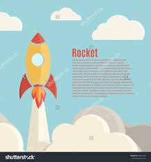 Image result for rocket illustration