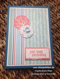 Stempelkitten: Just Keep Swimming