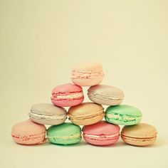 Poster | FRENCH MACARONS von Cassia Beck | more posters at http://moreposter.de