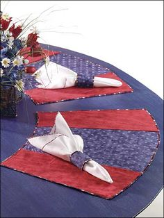 Sewing - Dining Room - In-the-Round Place Mats