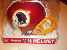 Riddell Washington Redskins Replica Mini Helmet. buy It From  www.bjsportstore.com