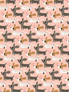 [ Duchshund pattern on Behance ]