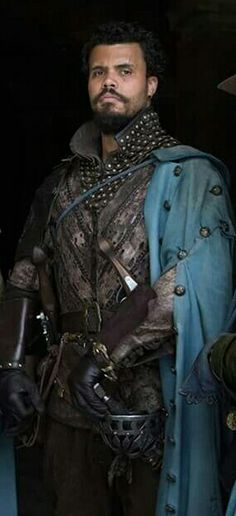 Howard Charles as Porthos The Musketeers BBC