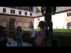 Fotografía Street View, fotos en 360 grados de Google. Alhambra de Granada