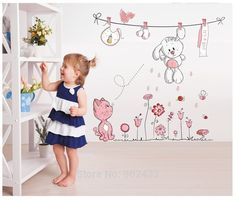 Wall Room Kids Sticker Decor Decal Removable Baby Nursery Vinyl Decals Home RL #WallRoom