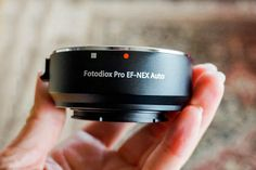 FotodioX Lens Adapter – How to Put Your Canon EF Lens on Your Sony E-Mount Camera