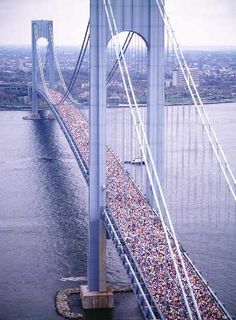 New York Verrazano Bridge Marathon