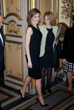 MYROYALS & HOLLYWOOD FASHION:  Crown Princess Letizia attended a dinner, March 4, 2014.