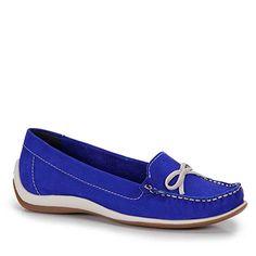 Sapato Dockside Feminino Bottero - Azul