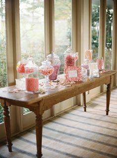 candy bar in my wedding color.