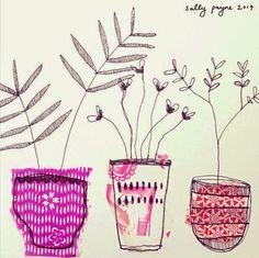 The pink illustration | Maria victrix