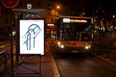 Anti-advertising: the hijacked bus stops of Paris – in pictures