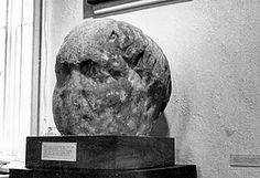 A stone head found in a flower bed in a Hampshire vicarage garden could represent Nero, the rarely-glimpsed Emperor whose first century rule over the Roman Empire began when he was a 14-year-old. The head of a cruel leader could be stored in Roman Chichester [Credit: © The Novium / Chichester District Council]