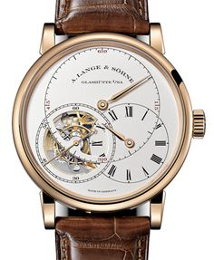 "760.032 A.Lange and Sohne часы Richard Lange Tourbillon ""Pour le Merite"" Limited Edition 100 - швейцарские часы золотые, белые"