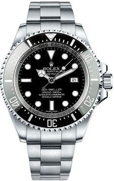 Lujo Rolex Sea Dweller Hombres acero automatico 116660 en venta