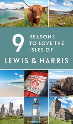 9 reasons to visit the Isle of Lewis and Harris in Scotland's Outer Hebrides – from stunning beaches and diverse countryside to great food and unique culture. #Scotland #OuterHebrides
