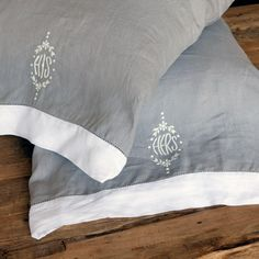 Pom Pom at Home Bedding His/Hers Pillowcase Set #laylagrayce #weddings
