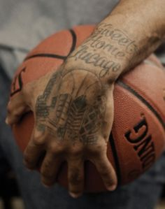 Bleacher Report says Derrick Rose has the best tattoo in sports history.