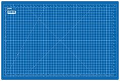 PAVO Tapis de découpe A1 Bleu Pavo…