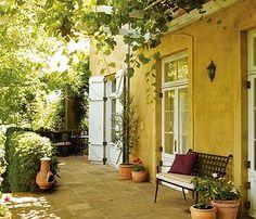 Mediterranean-style garden | Outdoors | Your home & garden | Homes & Property