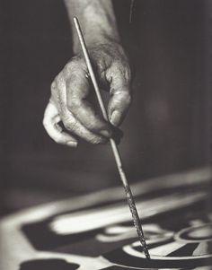Walter Limot- La main de Fernand Léger, vers 1934