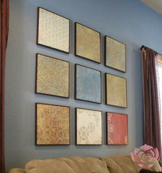 Why I love my Scrapbook Paper Wall Art! - Rose Knows Coupons - Helping You Save Big At The Register