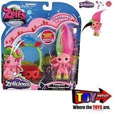 THE ZELFS VAMPULA ZELF Strawberry SCENTED ZELICIOUS Moose Toys MEDIUM Doll