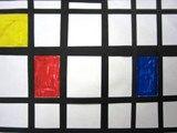 Artsonia Art Exhibit :: 1st Grade Piet Mondrian Primary and Secondary Colors