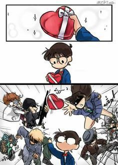 Conan and harem Dc Anime, Anime Chibi, Manga Anime, Anime Art, Detektif Conan, Conan Comics, Super Manga, Detective Conan Wallpapers, Kaito Kid